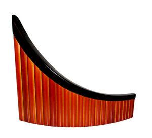 Left Hand Pan Flute, 22 pipes, Left Handed Alto Pan Flute + Soft Case