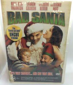 Bad Santa DVD region 4 Uncut Version