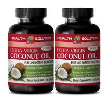 Coconut Oil Fiber Pill - EXTRA VIRGIN COCONUT OIL 3000MG - Strengthens Bones  2B