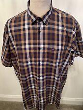 Mens Tommy Hilfiger Checked Smart Dress Shirt *UK Size XXXL*