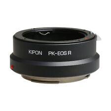 Kipon Adapter for Pentax K Mount Lens to Canon EOS R Full Frame Camera