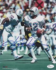 KEN STABLER signed/autographed HOUSTON OILERS 8x10 Photo - JSA R06070