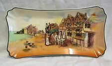 "11"".1953-55 Royal Doulton Old English Coaching Scenes Sandwich Plate/Tray D6393"