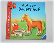 Ƹ̵̡Ӝ̵̨̄Ʒ Ravensburger Puzzlebuch Puzzle Auf dem Bauernhof Pony Traktor Ƹ̵̡Ӝ̵̨̄Ʒ