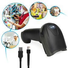 Portable Usb Wired 1d Handheld Laser Barcode Scanner For Pos System Supermarket