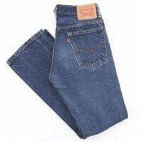 Vintage LEVI'S 517 Blue Denim Regular Bootcut Jeans Mens W29 L32