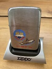 ZIPPO USS CORAL SEA CV-43 Retired 2003 LIGHTER 1941 Vintage Style New