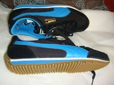 Puma Whirlwind Classic Black-Blue Jewel-White Running Shoes. Size 7-1/2 US