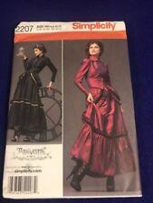 Simplicity Costume Pattern 2207 Arkivestry Steampunk 6- 12 Uncut