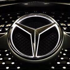 Illuminated LED Light Front Grille Star Emblem Badge for Mercedes Benz 2011-2018