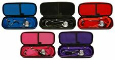 Professional Sprague Double Dual Head Rappaport Stethoscope W / Case Adult Child