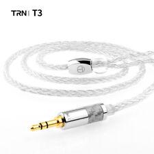 TRN T3 8 Core Pure Fine Silver Premium Upgrade Cable 2.5/3.5MM for V90 V80 V10