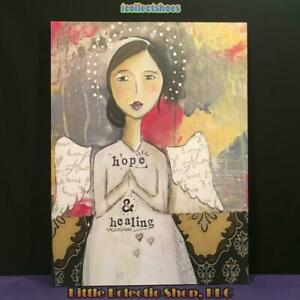 Kelly Rae Roberts 1002720156 HOPE AND HEALING - 18x24 Canvas Wall Art