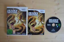 Wii - Deadly Creatures - (OVP, mit Anleitung)