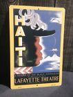 "Haiti Black Napoleon Lafayette Theatre Metal Sign Vintage Wall LARGE 18"" X 12"""