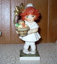 Goebel Red Heads Figurine Cheer Up Nurse Gift Basket W Germany 1967 Charlot Byj