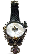 BARBARA BIXBY STERLING SILVER 18K GOLD BUMBLEBEE BUTTERFLY WRISTWATCH WATCH