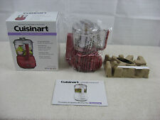 Cuisinart Mini-Prep Plus Food Processor-Red DLC-2ARDWS-New Opened Box