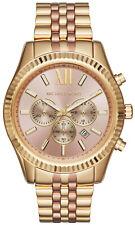 Michael Kors MK6473 Lexington Rose Gold Dial Two Tone Chronograph Women's Watch