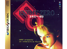 # Sega Saturn-Enemy Zero + spinecard (jap/jp/jpn import) - como nuevo #