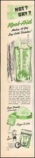 1950 vintage AD KOOL AID ice cold beverage 6 flavors (early Koolaid ad) (073116)