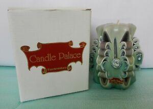 Handmade Wax Green Candle Palace made in Fuerteventura