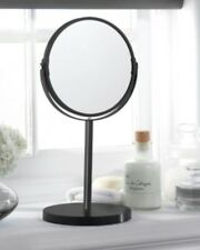 Black Vanity Mirror on Stand Dressing Table Bathroom Mirror NEW