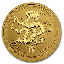 2012 1/2 oz Gold Lunar Year of the Dragon Coin