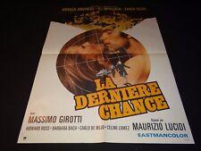 LA DERNIERE CHANCE  ! ursula andress affiche cinema 1973