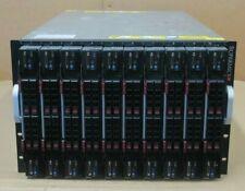 Supermicro SuperBlade SBI-7227R-T2 10 Blade Server 40 E5-2618Lv2 640GB 9.6TB SSD