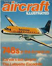 Aircraft Illustrated 1979 October Carvair,G-91,DC-6,Lafayette Escadrille