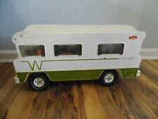 Vintage 1970s Mighty Tonka Winnebago Indian Motorhome Camper RV Metal Toy