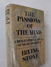 Sigmund Freud Biographical Novel Psychoanlysis Irving Stone Signed DJ 1st 1971