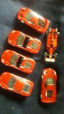 Modell Autos . Ferrari   6 Stück alle Autos zum Aufziehen .fahren.