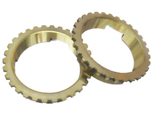 NEW 1939-56 Ford transmission synchronizer blocker rings pair flathead 81A-7107