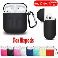 For Apple AirPods 1 Case Silicone Shockproof Earphone Charging Protective Cover