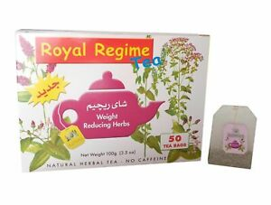 1 Royal Regime Tea made with Herbs for Weight Loss, Slimming,