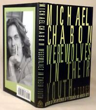 Michael Chabon, WEREWOLVES IN THEIR YOUTH, Signed (title page), 1st/1st