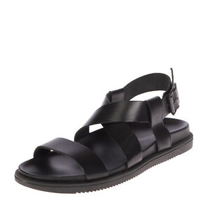 PIERRE DARRE Leather Slingback Sandals EU44 UK10 US11 Criss Cross Made in Italy