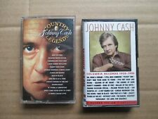 Johnny Cash Columbia Records 1958-1986 & Country Legends cassettes