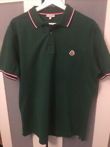 Moncler Mens Polo Green XL