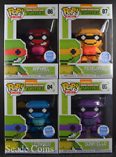 Funko POP 8-Bit Teenage Mutant Ninja Turtles Neon Funko Shop Exclusive