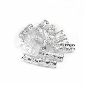 Hair Dread Braids Tube Rings Beads 100pcs Inner 9mm Hair Metal Micro Adjustable