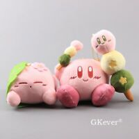 Adorable Super Cute Kirby Plush Keychain Stuffed Pendant Doll Toy Kids Gift
