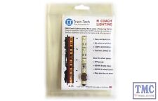 TTCN22 Train Tech N Scale Warm White Coach Lighting Strip with Flickering Tail L