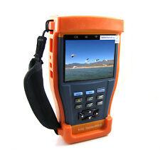 "Portable 3.5"" Monitor FHD AHD Analog CVBS CCTV Cam Tester PTZ Control 12V Output"