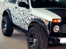 LADA NIVA 4X4 3doors flexible Fender Flares Extension Arch 70mm LLDPE