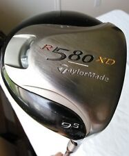 Taylor Made R580XD 9.5* Driver w/R500 series Graphite w/headcover RIGHT H