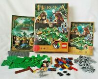 Lego 3858 HEROICA Waldurk Forest Buildable Game - 100% Complete! Microfigs!