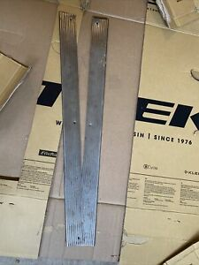 Fiat 124 Spider Door Sill Chrome Trim both pass & Driver side, in good shape